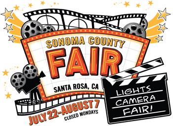 2016 Sonoma County Fair - Lights, Camera, Fair!