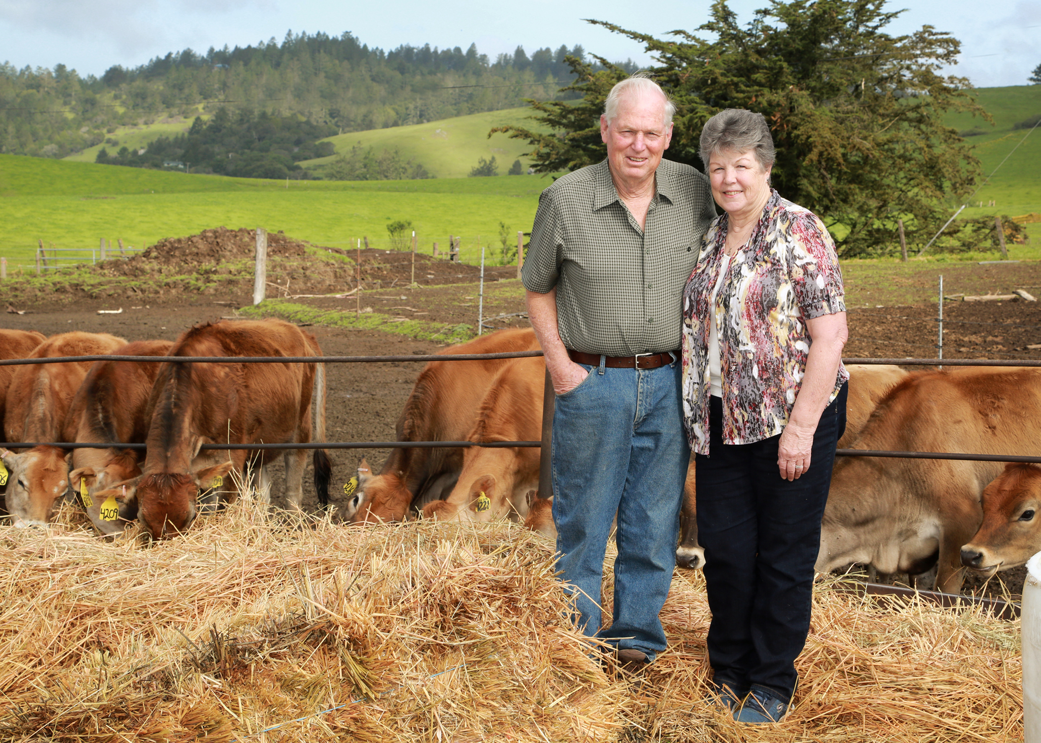 Richard & Marilyn Hughes - Sonoma County Fair Award Winner