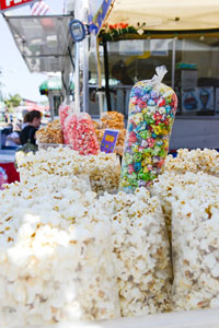 Kettle Corn at the Sonoma County Fair