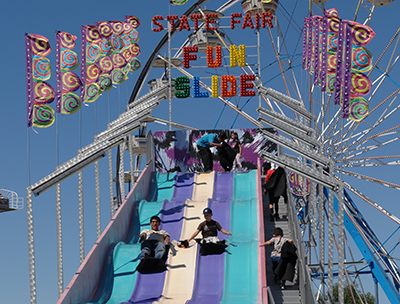 State Fair Fun Slide