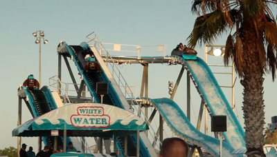 White Water Flume